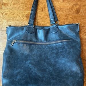 Distressed look Forever21 bag.